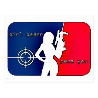 ¡Videojugador Pwns del chica usted Postal