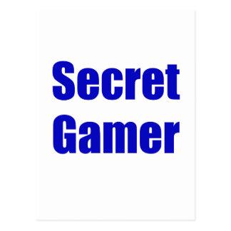 Videojugador secreto postal