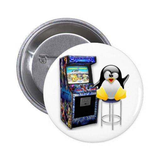 Videojugador Tux Pin