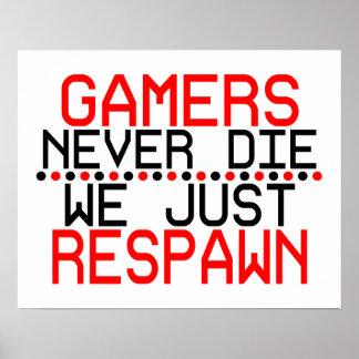 Videojugadores Respawn Póster