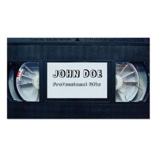Videotape Business Card Templates