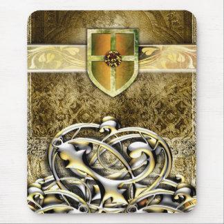 Vides antiguas medievales del metal del saber del tapetes de ratones