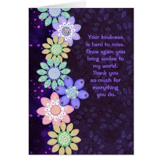 Vides de Bokeh de las flores - cualquier diseño de Tarjeta De Felicitación