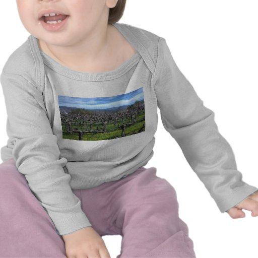 Vides en el invierno Napa California Camiseta