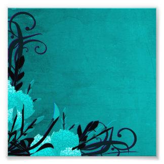 Vides florales color de rosa azules bonitas fotografía