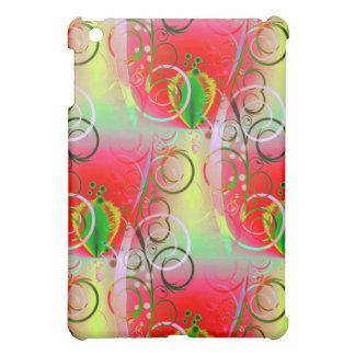 Vides florales de la primavera amarilla verde roja iPad mini coberturas