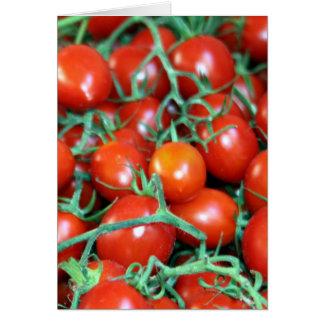 vides rojas del tomate felicitación