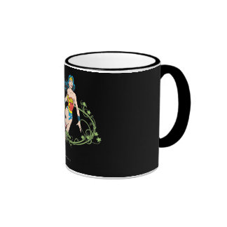 Vides verdes de la Mujer Maravilla Taza De Café