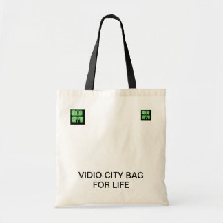 VIDIO CITY BAG FOR LIFE