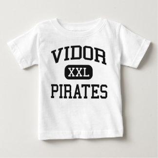 Vidor - piratas - High School secundaria de Vidor Playera De Bebé