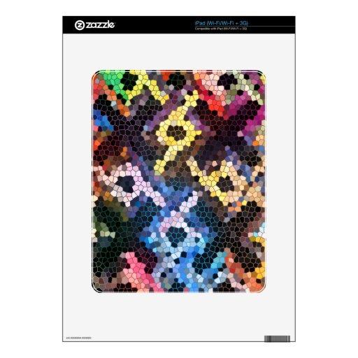 Vidrio acolchado skin para el iPad