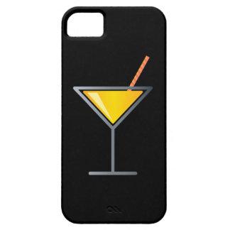 Vidrio amarillo de Martini del cóctel iPhone 5 Carcasas