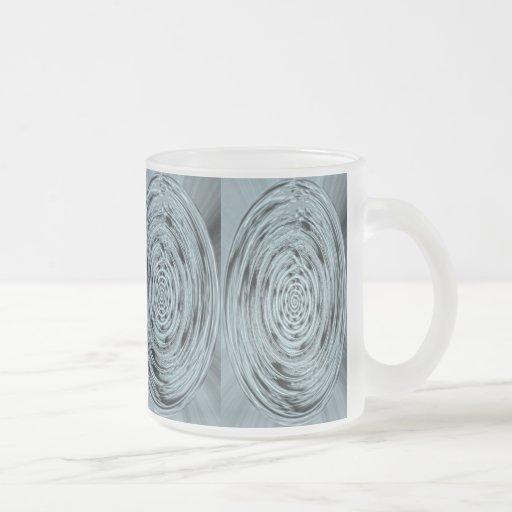 Vidrio antiguo taza de café