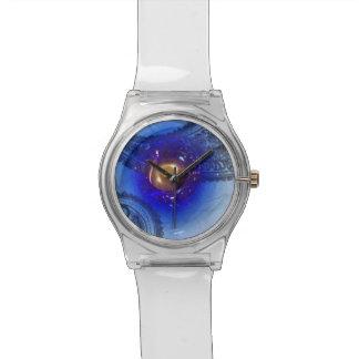 Vidrio azul relojes