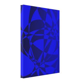 Vidrio azul roto extracto