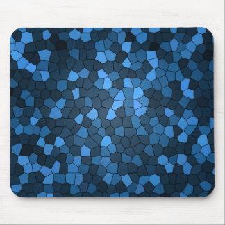 vidrio azul alfombrilla de ratones