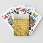 Vidrio de cerveza cartas de juego