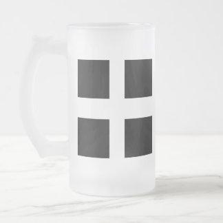 Vidrio de cerveza de Cornualles de la bandera Taza De Cristal