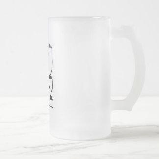 Vidrio de cerveza de Lulz Taza De Cristal