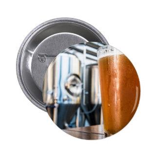 Vidrio de cerveza en el Microbrewery Pin