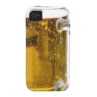 Vidrio de cerveza iPhone 4 carcasas