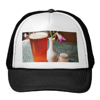 Vidrio de cerveza gorra