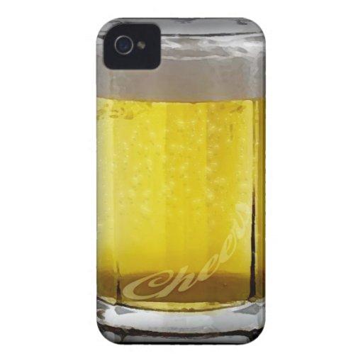 Vidrio de cerveza iPhone 4 Case-Mate cárcasa