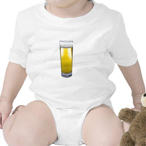 vidrio de cerveza trajes de bebé