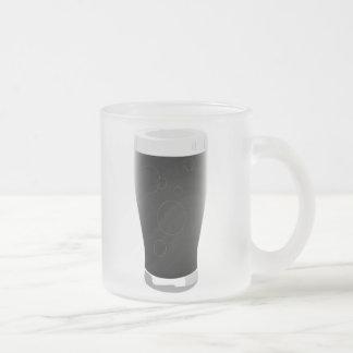 Vidrio de cerveza valiente taza de cristal