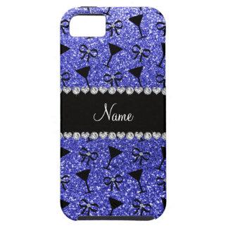 Vidrio de cóctel azul de neón conocido iPhone 5 Case-Mate cárcasas