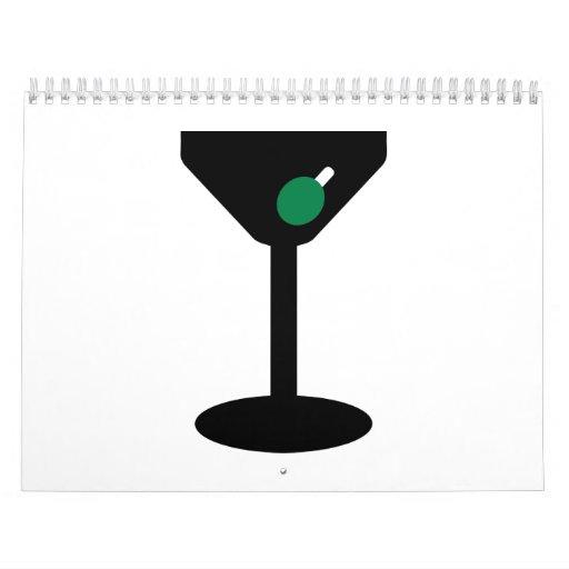 Vidrio de cóctel calendario