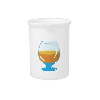 Vidrio de la bebida jarra de beber