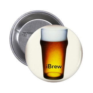 vidrio de la cerveza inglesa del iBrew Pins