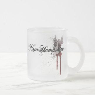 Vidrio de la taza de New Hampshire de la salpicadu
