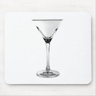 vidrio de martini alfombrillas de ratones