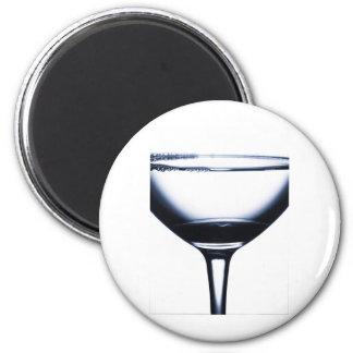 Vidrio de Martini de los cócteles Iman Para Frigorífico
