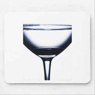 Vidrio de Martini de los cócteles Alfombrilla De Raton