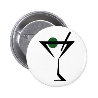 Vidrio de Martini Pin Redondo 5 Cm