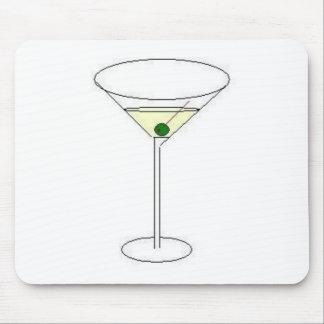 Vidrio de Martini Tapete De Ratones