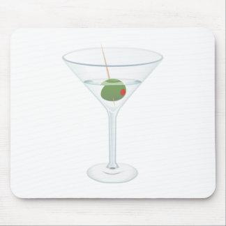 Vidrio de Martini Tapetes De Raton