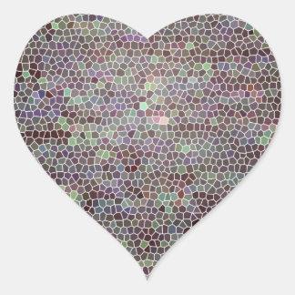 Vidrio de Toscana Pegatina De Corazón Personalizadas