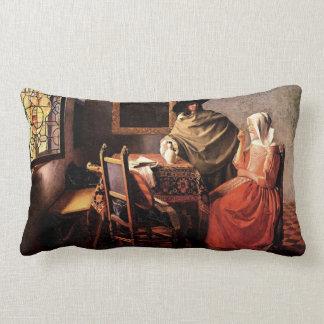Vidrio de vino de Juan Vermeer Cojines