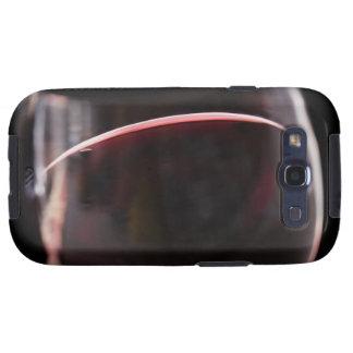 Vidrio de vino rojo galaxy s3 carcasas