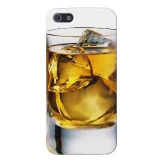 vidrio de whisky IPhone 5 casos iPhone 5 Fundas