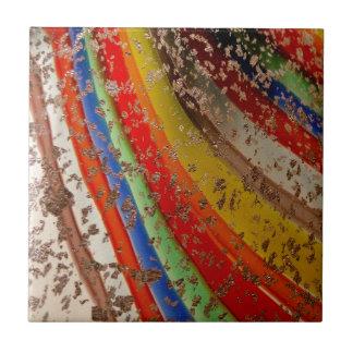 Vidrio del arte del arco iris azulejos cerámicos