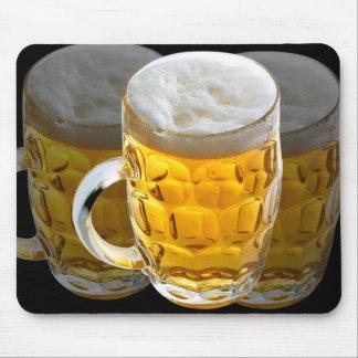 Vidrio del cojín de ratón de la cerveza/de la alfombrillas de ratones