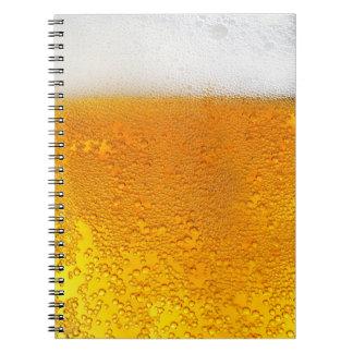 Vidrio del cuaderno de la cerveza #1