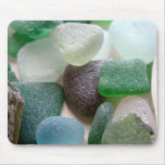 Vidrio del mar azul y verde tapetes de ratones