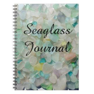 Vidrio del mar, cuaderno de cristal del diario de