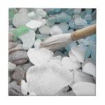 Vidrio del mar de la pintura del color azulejos ceramicos